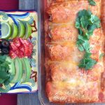 Black Bean Enchiladas with Pumpkin Sauce