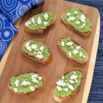 Sweet Pea Crostini + The Slim Down South Cookbook