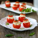 Chicken Salad Tomato Bites