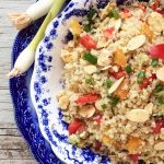 Quinoa with Almonds and Apricots