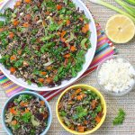 Wild Rice and Kale Salad