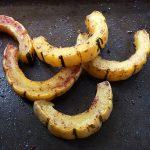 Cinnamon Roasted Delicata Squash Slices + How to Roast Delicata Squash