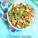 Chicken Veggie Stir Fry + The Pre-Diabetes Diet Plan