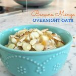 Banana Mango Overnight Oats