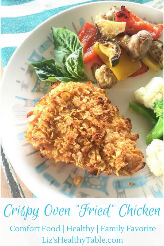 "Crispy Oven ""Fried"" Chicken"