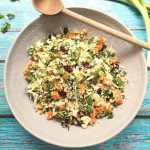Sweet Potato and Cauliflower 'Rice' Tabbouleh