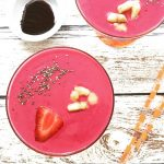 Sun-Kissed Strawberry Beet Smoothie