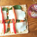 Pizza Pinwheels with Hummus and Veggies