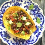 Taco-Topped Spaghetti Squash Bowls + How to Roast Spaghetti Squash