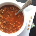Lentil Alphabet Soup