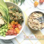 Tuscan Tuna Bowls