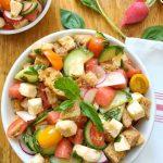 Sunny Summer Panzanella Salad