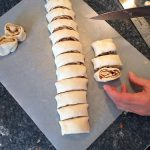 Peachy Pecan Cinnamon Buns - they won't make your buns big!