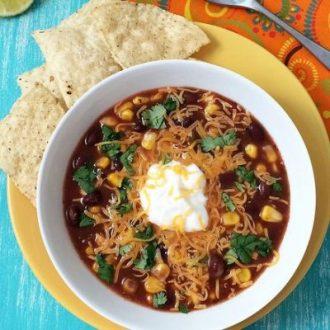 Last-Minute Black Bean Soup