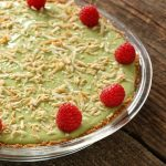 Avocado Yogurt Key Lime Pie