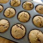 Banana Chocolate Chip Muffins + Lunch Box Snack Ideas