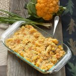 Orange Cauliflower Tex-Mex Casserole
