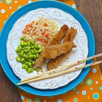 Asian Salmon Sticks