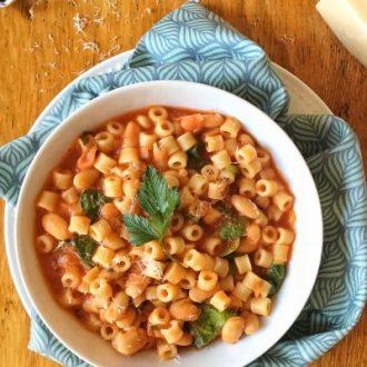 Pasta e Fagioli + Fresh Italian Cooking for the New Generation