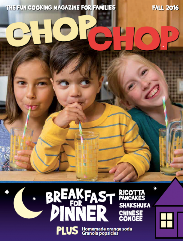ChopChop Magazine and tips for feeding picky eaters - Episode 3 of Liz's Healthy Table