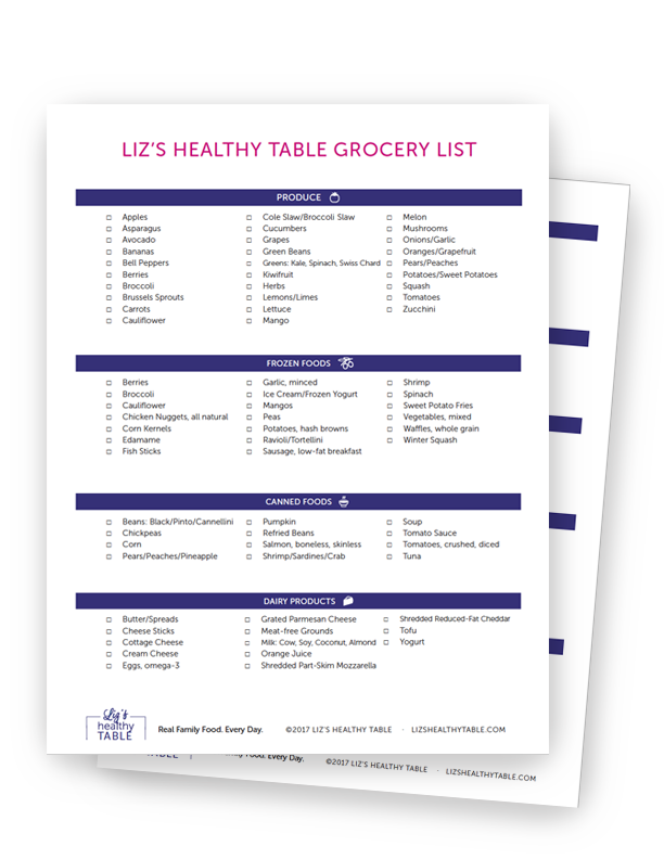Supermarket Shoppint List