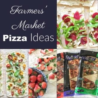 3 Farmers' Market Pizza Ideas + a Farmers' Market Scavenger Hunt PDF Printable