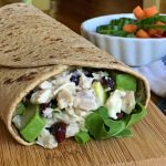 Lemony Chicken Avocado Wraps