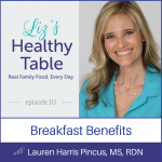 Lauren Harris-Pincus MS, RDN, Breakfast Benefits