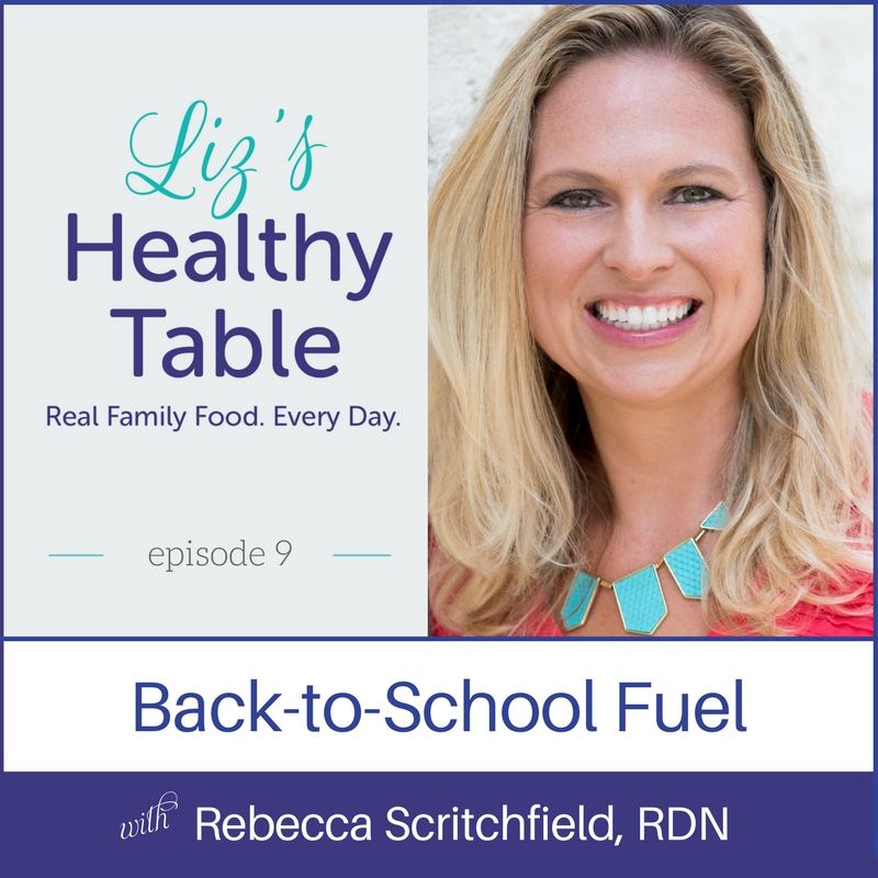 Liz's Healthy Table podcast via lpzshealthytable.com
