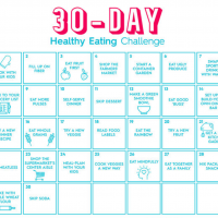 30-Day Healthy Eating Challenge: Parents.com (Byline)