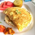 Slow-Roasted Tomato and Cheese Omelet + Ways to Reduce Food Waste