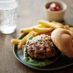 Cheddar Chive Burgers + From Freezer to Table
