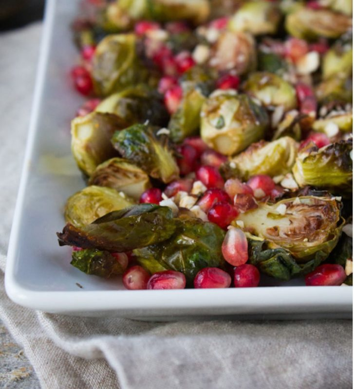 Healthy Brussels Sprouts Roundup via LizsHealthyTable.com #BrusselsSprouts