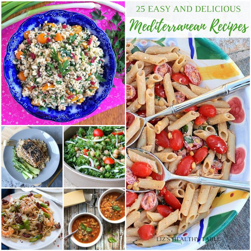 Mediterranean Style Diet Recipes: 25 Easy And Delicious Mediterranean Recipes