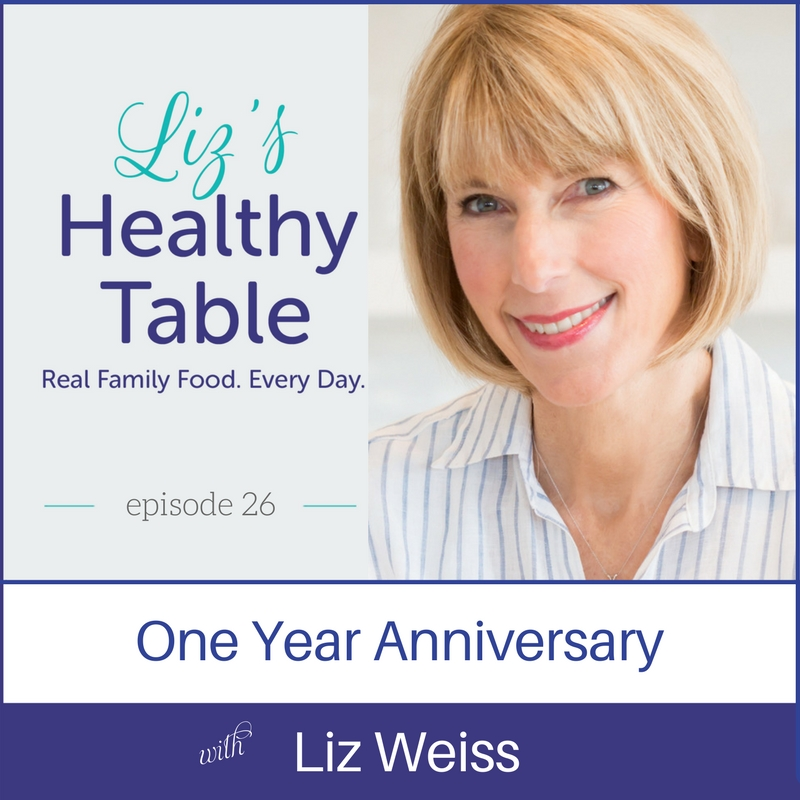 Liz's Healthy Table #podcast