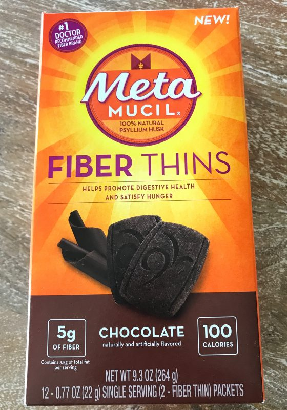 Metamucil Fiber Thins via LizsHealthyTable.com #snacks #fiber