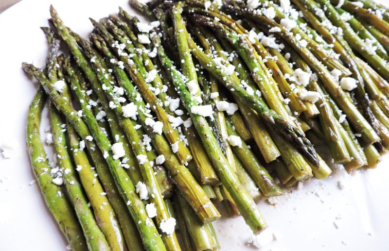 Asparagus recipe roundup via lizshealthytable.com