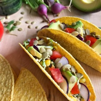 Mexican Grilled Corn Tacos