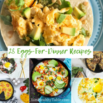 A Roundup of 28 Eggs-for-Dinner Recipes