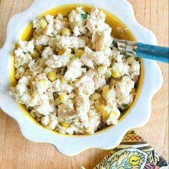 Chicken & Fresh Corn Salad