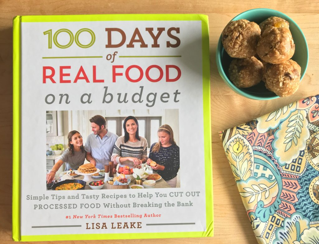100 Days of Real Food on a Budget via LizsHealthyTable.com/podcast