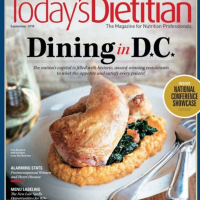 Family Dinners Made Easy (Today's Dietitian, Byline)