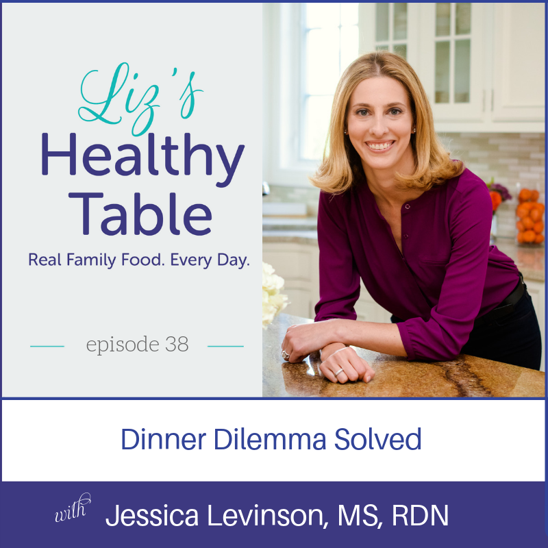 Liz's Healthy Table Podcast Episode 38: Dinner Dilemma Solved + Meal Planner Giveaway