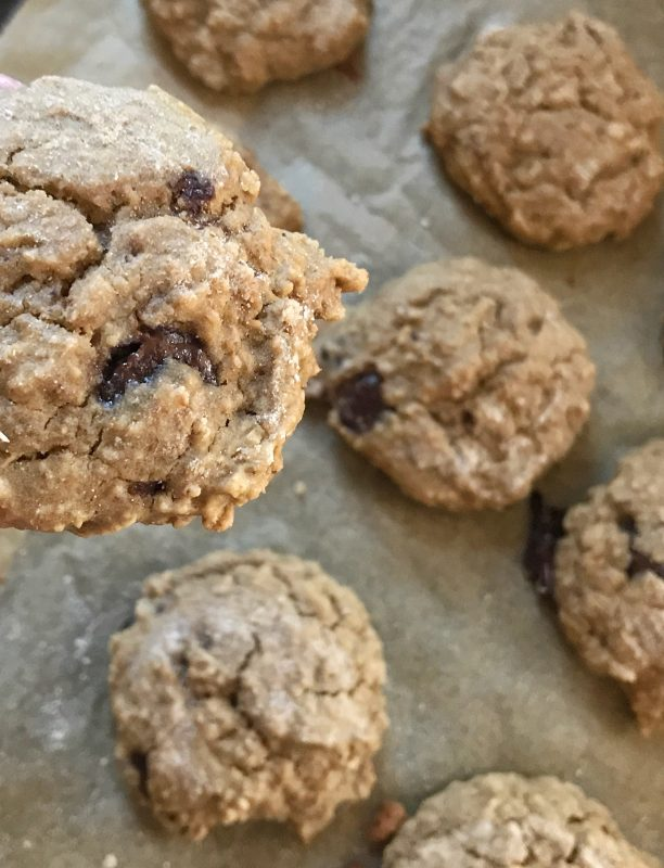 Red Lentil Snack Cookies via LizsHealthyTable.com