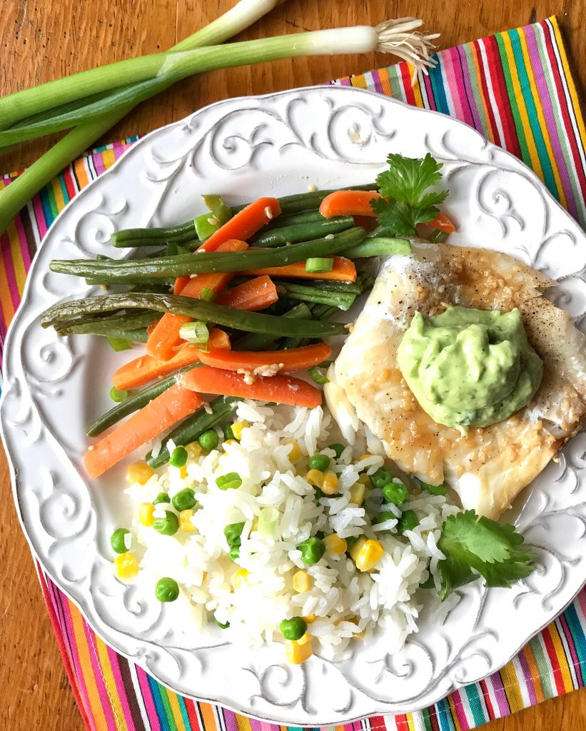 Cod, Carrot and Green Beans Foil Packets via LizsHealthyTable.com #FoilPackDinners