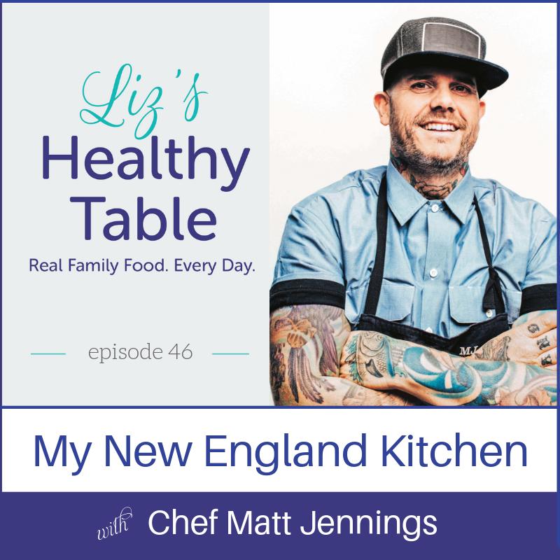 Matt Jennings on the Liz's Healthy Table podcast