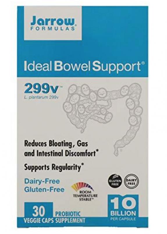 IBS probiotic Supplement via LizsHealthyTable.com