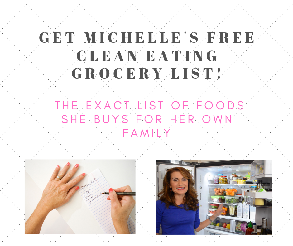 Clean Eating Grocery List from Michelle Dudash via LizsHealthyTable.com