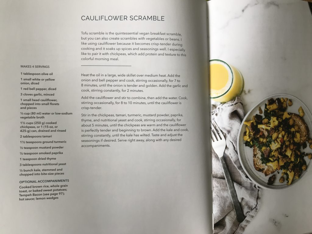 Cauliflower Scramble