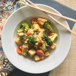 Tips for Making Family Dinners Happy and Healthy + a Recipe for Tofu Stir-Fry with Broccoli and Carrots